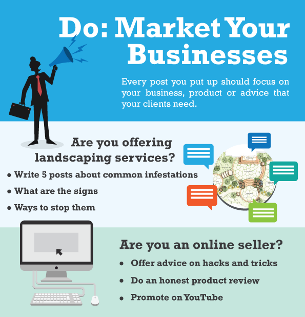 Do Market Your Businesses