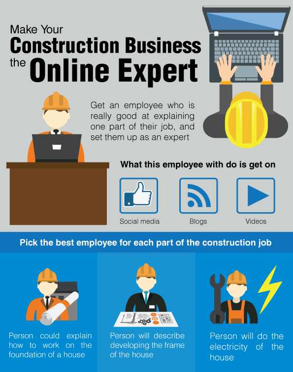 Make Your Construction Business the Online Expert