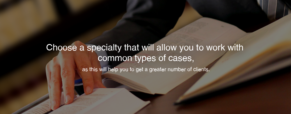Choosing The Right Specialty Of Law