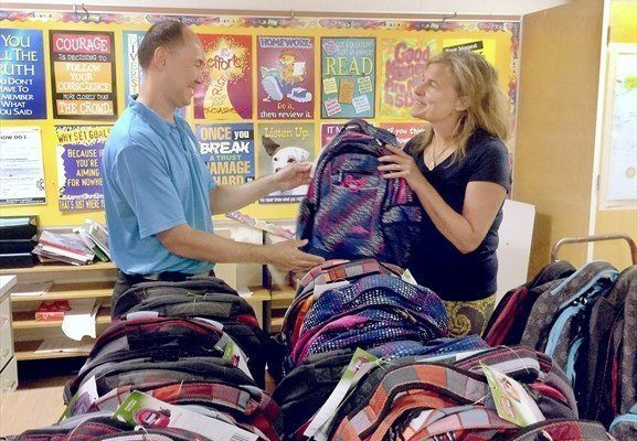 East-Toronto-business-owner-donates-backpacks-to-two-schools