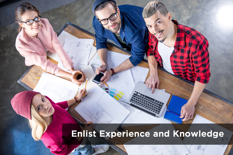 enlist-experience-and-knowledge