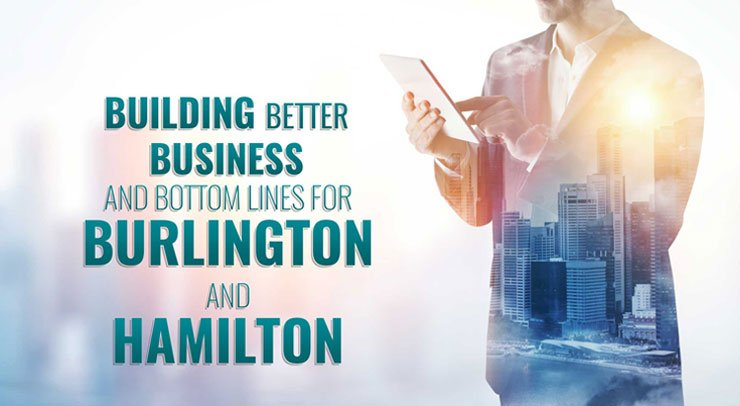 Hamilton and Burlington