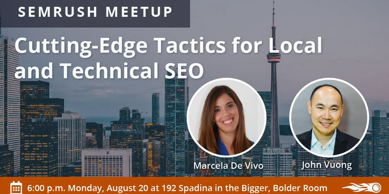 Cutting Edge Tactics for Local and Technical SEO – Toronto