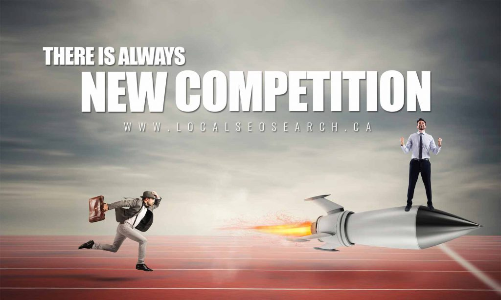 There Is Always New Competition