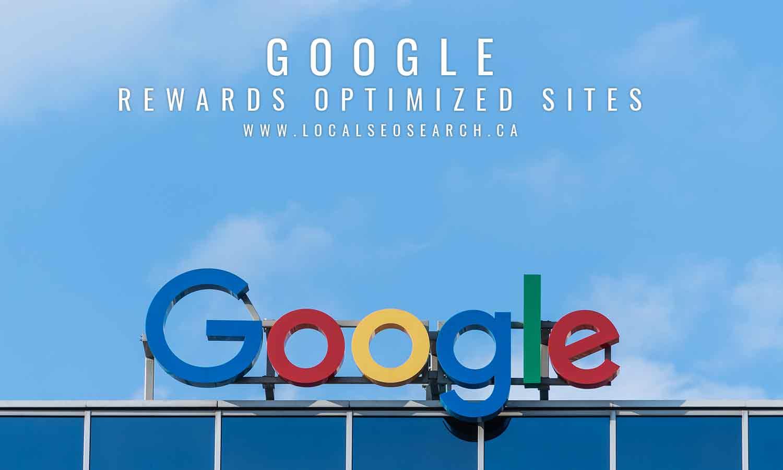 Google-rewards-optimized-sites