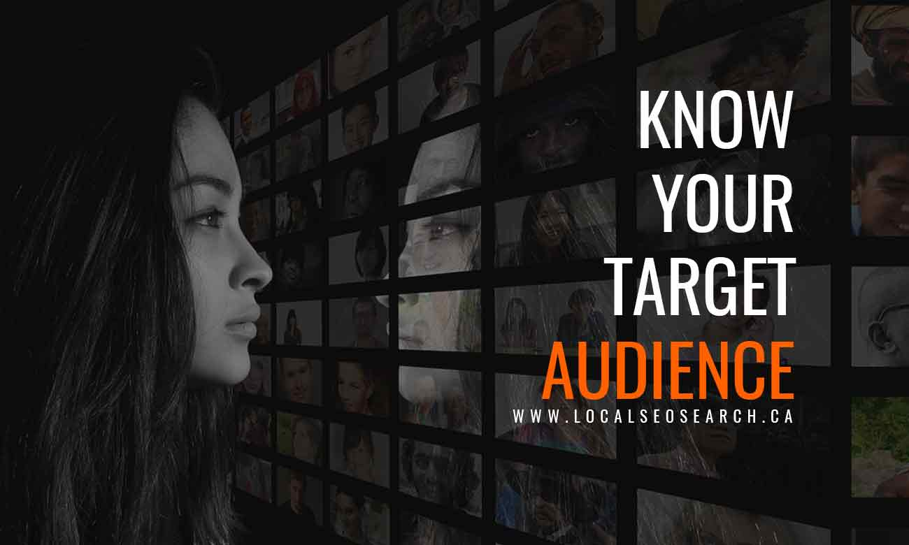 Know-your-target-audience