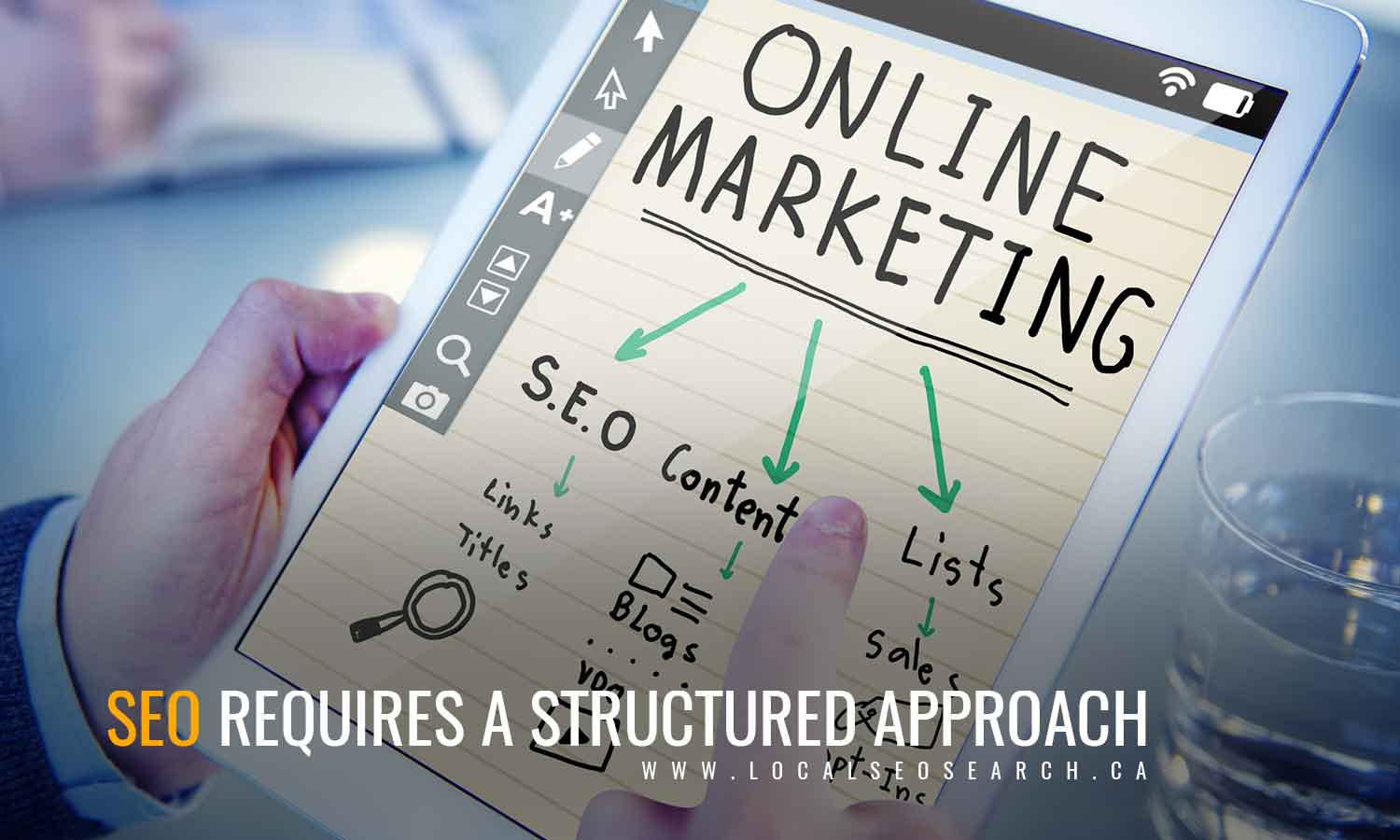 SEO requires a structured approach