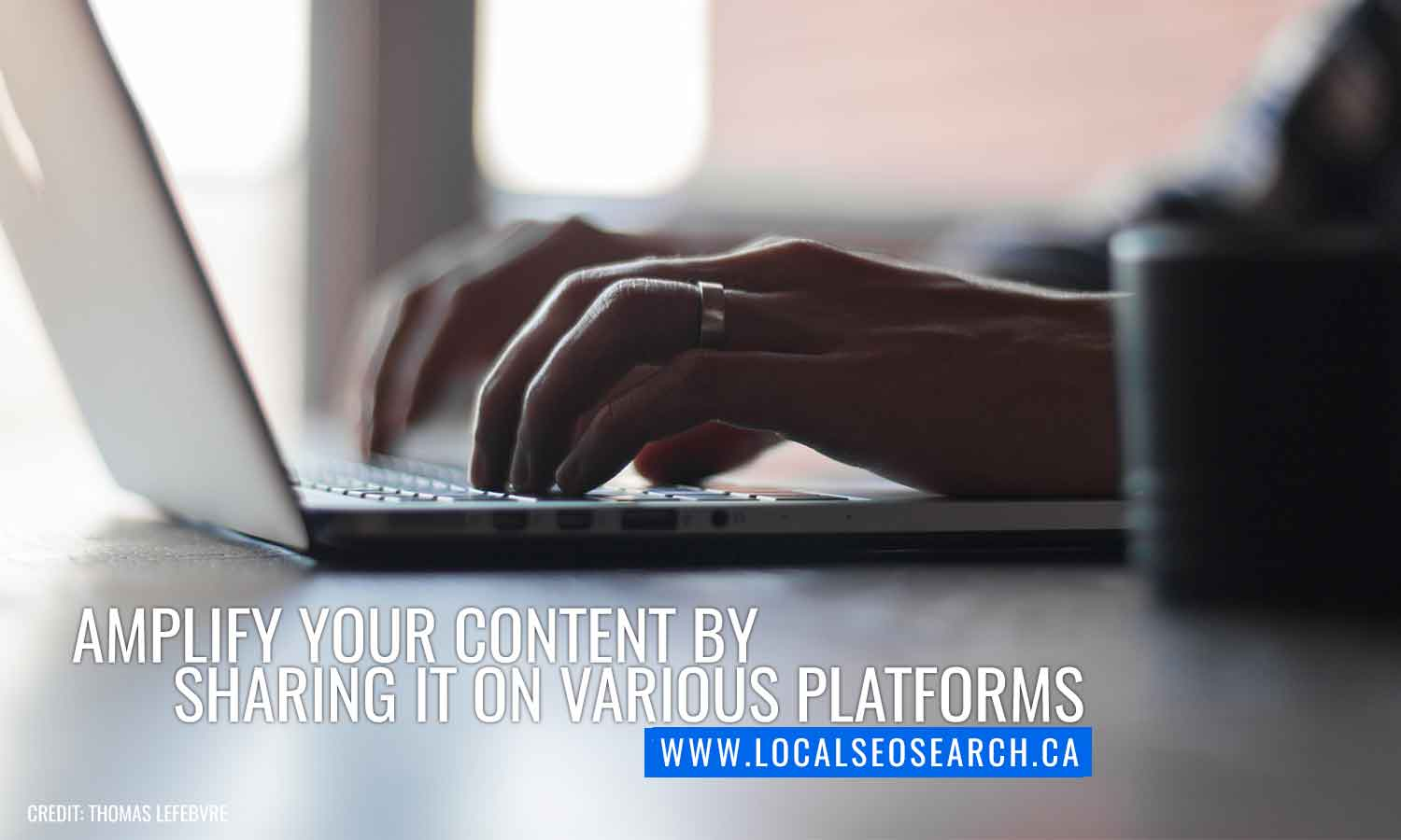 Amplify your content by sharing it on various platforms