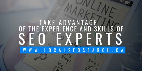 Take advantage of the experience and skills of SEO experts