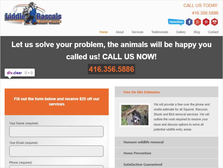 Liddle Rascals Wildlife Control