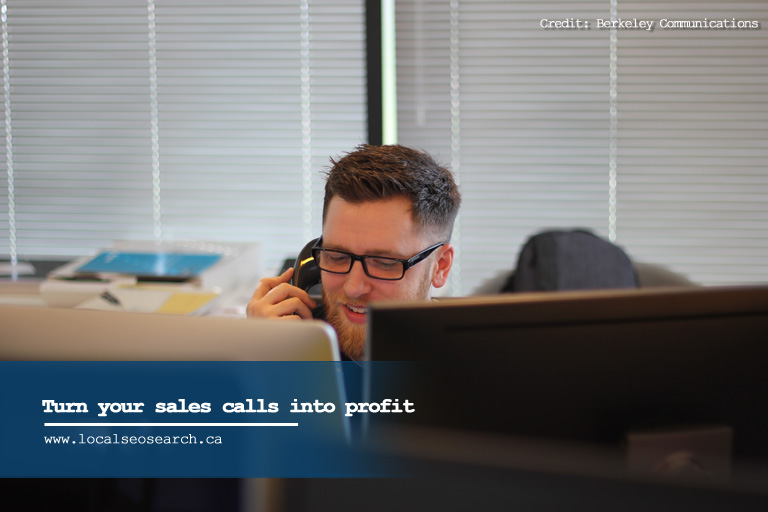 Turn your sales calls into profit