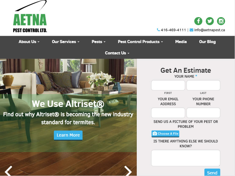 Aetna Pest Control LTD