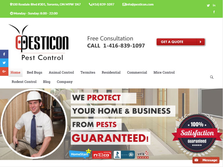 Pesticon Pest Control