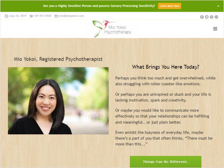 Mio Yokoi Psychotherapy