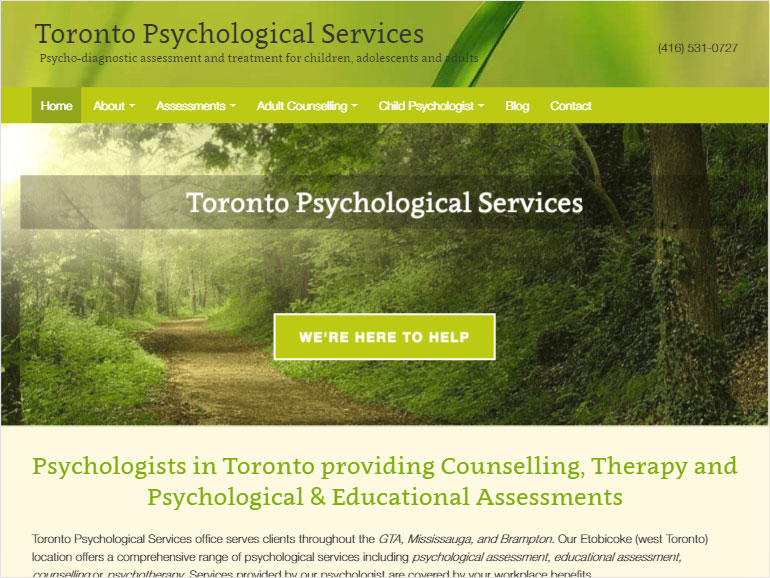 Toronto Psychological Services