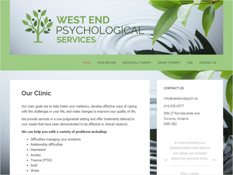 West End Psychological Services