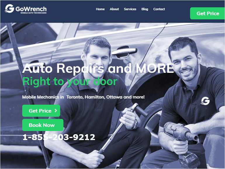 Go Wrench Mobile Auto Technicians