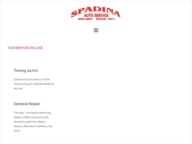 Spadina Auto Service