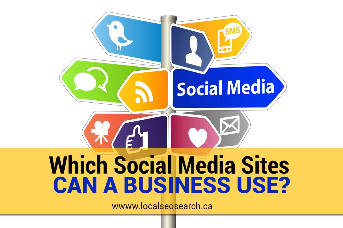 Which Social Media Sites Can a Business Use?