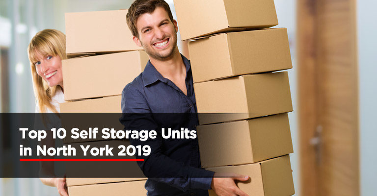 Top 10 Self Storage Units in North York 2019
