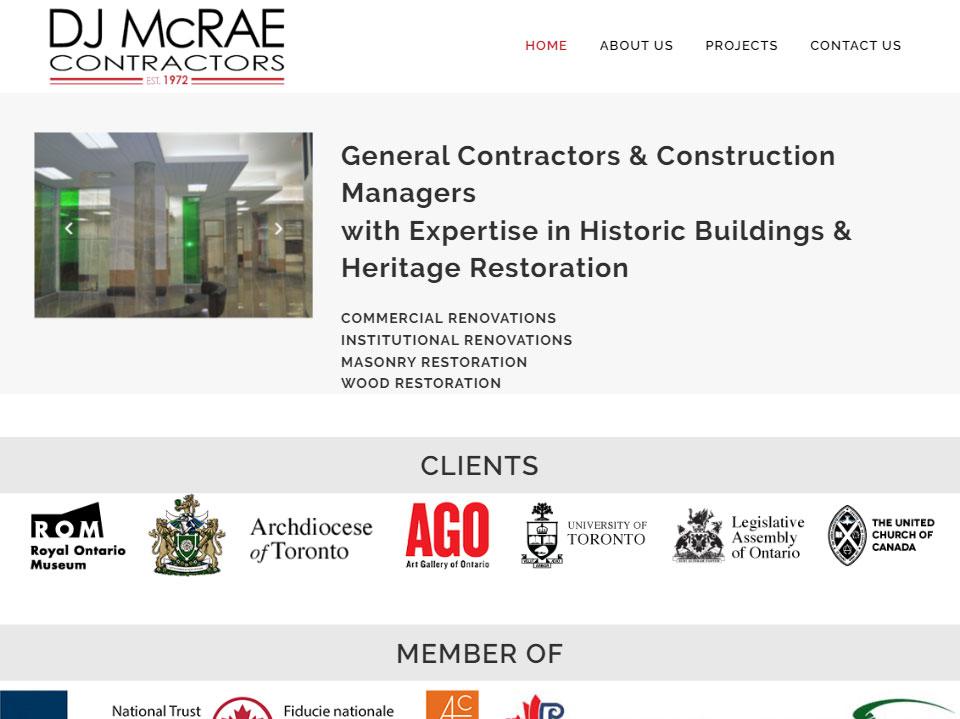 DJ McRae Contractors