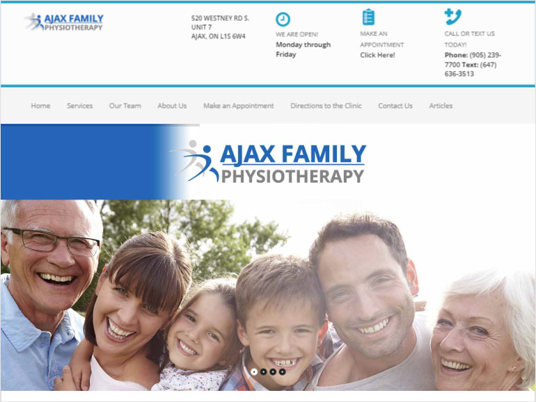 Ajax Family Physiotherapy