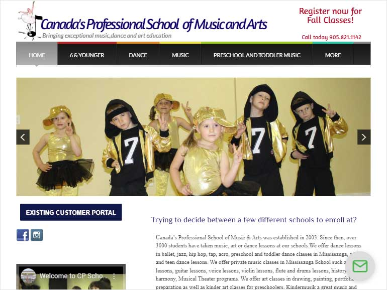 Canada's-Professional-School-of-Music-and-Arts
