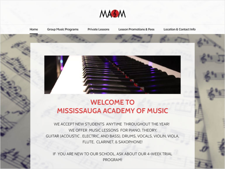 Mississauga Academy of Music