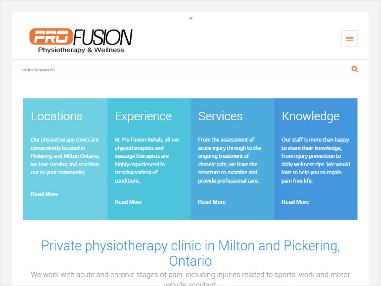 ProFusion Physiotherapy and Wellness