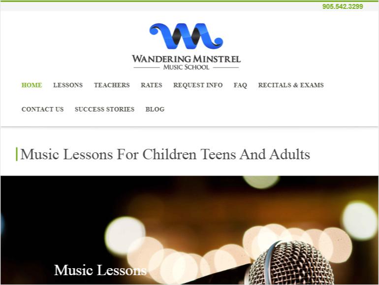 Wandering Minstrel Music School.