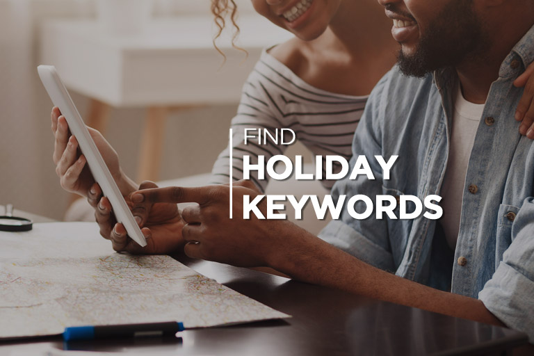Find Holiday Keywords