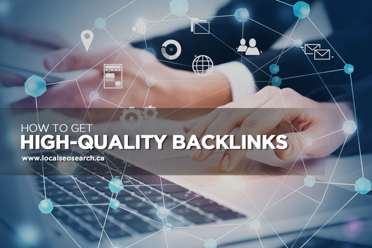 Get High-Quality Backlinks
