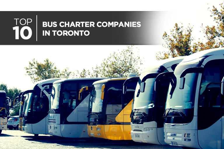 Top 10 Bus Charter Companies in Toronto