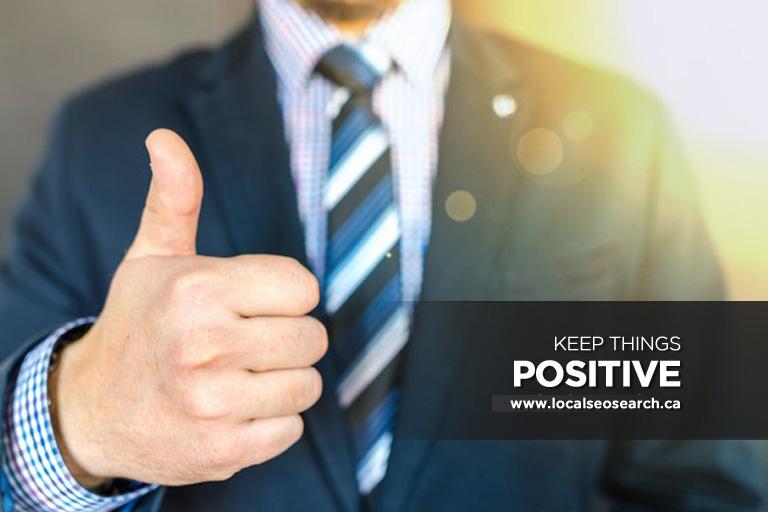 Keep Things Positive