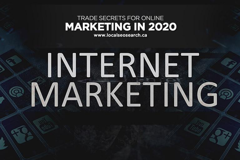 Trade Secrets for Online Marketing