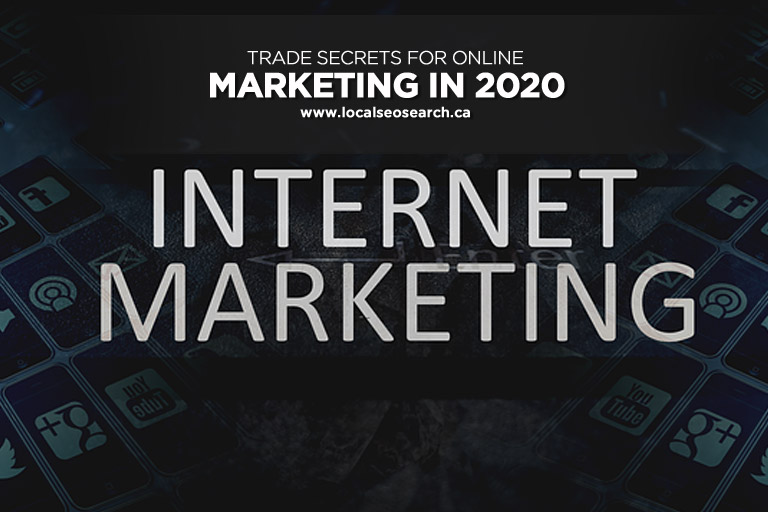 Trade Secrets for Online Marketing