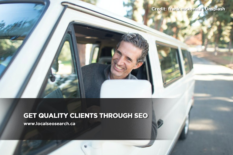 Get quality clients through SEO