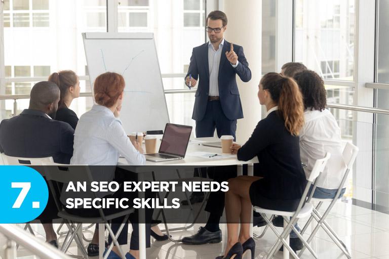 An SEO Expert Needs Specific Skills