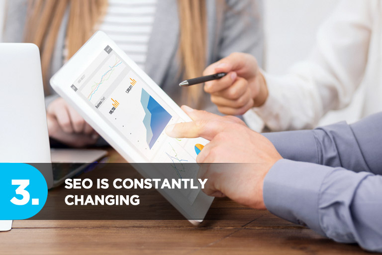 SEO is Constantly Changing