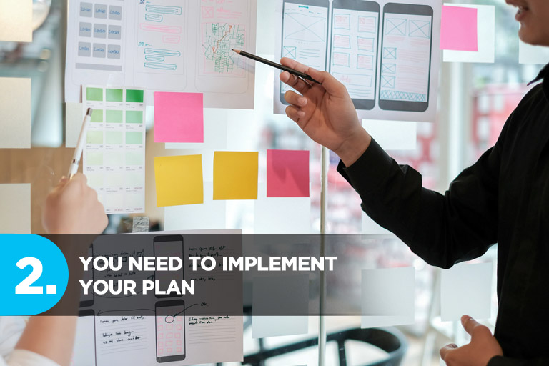 You Need to Implement Your Plan