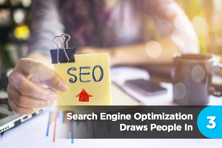 Search Engine Optimization Draws People In