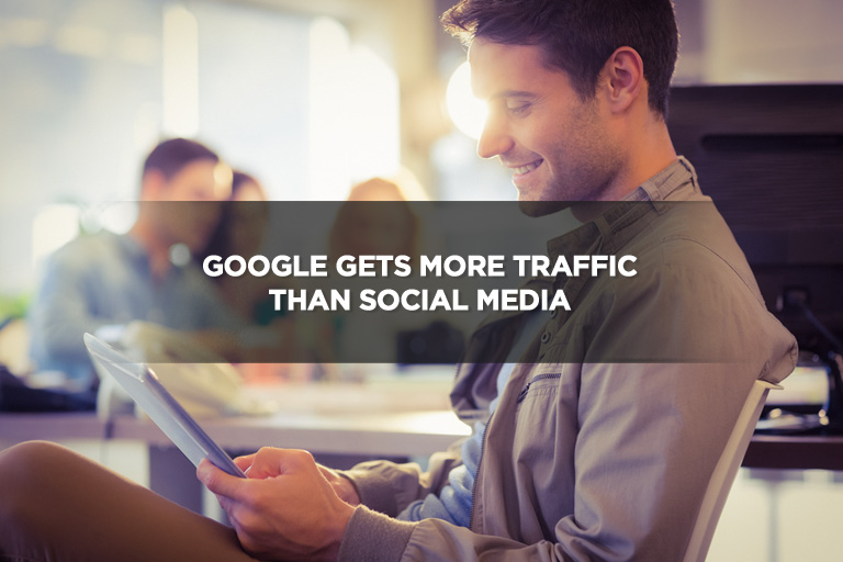 Google Gets More Traffic Than Social Media