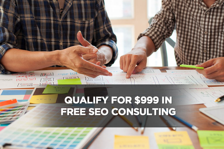 Qualify for $999 in Free SEO Consulting