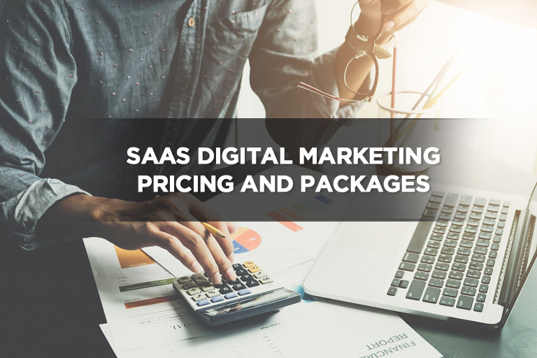 SaaS Digital Marketing Pricing and Packages