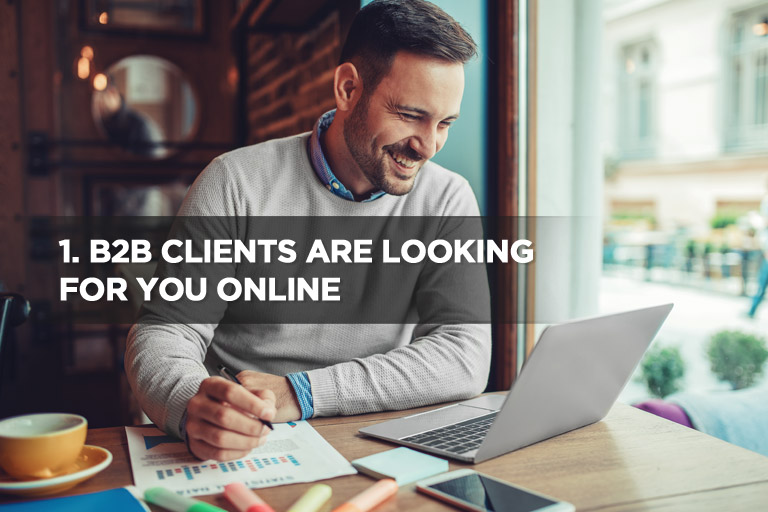 B2B Clients Are Looking For You Online