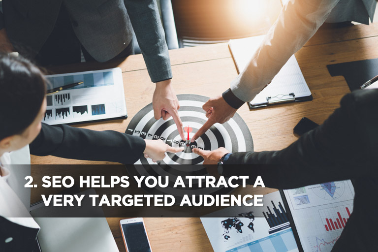 SEO Helps You Attract a Very Targeted Audience