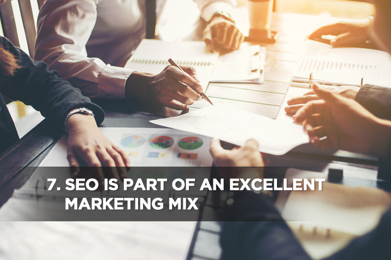 SEO is Part of an Excellent Marketing Mix