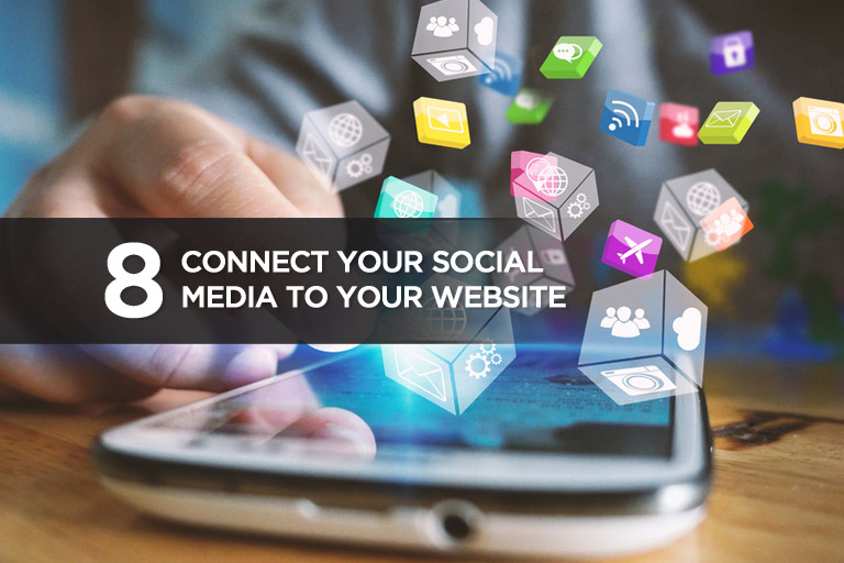 Connect Your Social Media to Your Website
