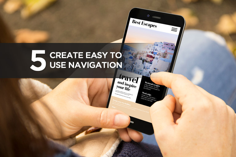 Create Easy to Use Navigation