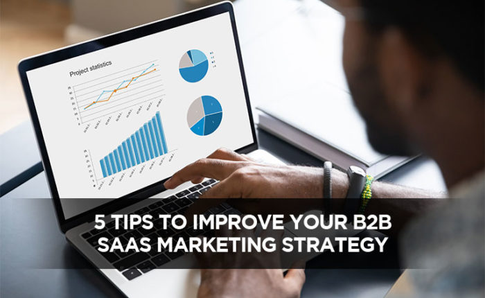 5 Tips To Improve Your B2B SaaS Marketing Strategy
